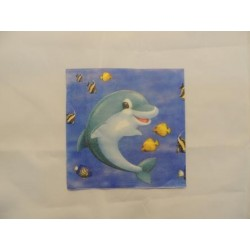 Салфетка CA001 Дельфин