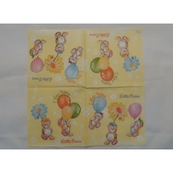 Салфетка CA003 Мишки на шариках