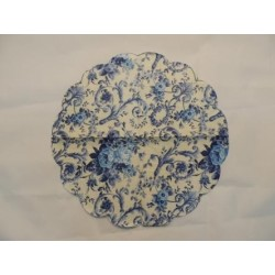 Салфетка FL008 Голубые розы