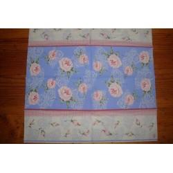 Салфетка FL010 Скатерть с розами