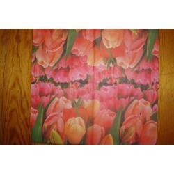 Салфетка FL012 Поле тюльпанов