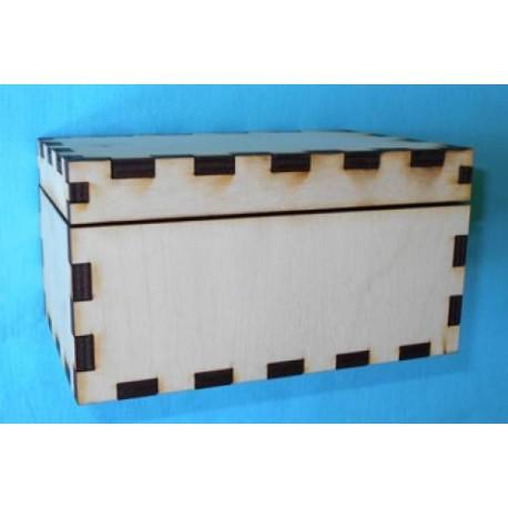 Заготовка для декупажа Шкатулка, размеры 8х10х15 см