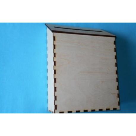 Заготовка для декупажа Почтовый ящик, размеры 12х25х35 см