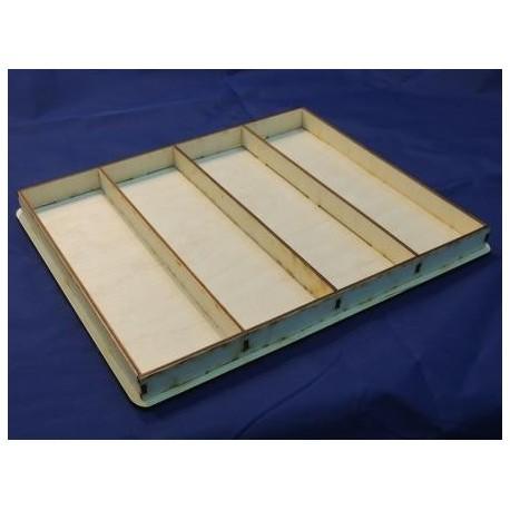 Заготовка для декупажа Shadow box 2, размеры 2х26х31 см