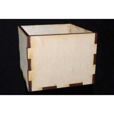 Заготовка для декупажа Коробочка, размеры 7х9х9 см