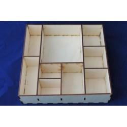 Заготовка для декупажа Shadow box, размеры 5х25х25 см