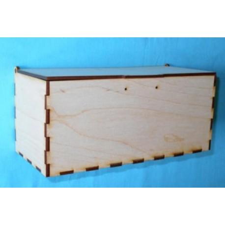 Заготовка для декупажа Коробка для бутылок, размеры 10х10х22 см