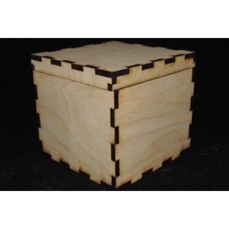 Заготовка для декупажа Шкатулка, размеры 14х15х15 см