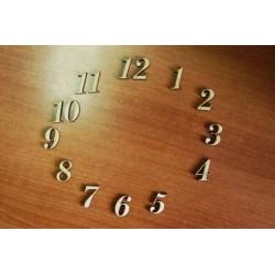 Заготовка для декупажа Цифры для часов арабские, высота 2 см