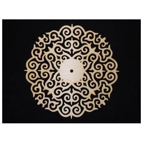 Заготовка для декупажа Часы Орнамент 2, диаметр 30 см