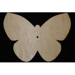 Заготовка для декупажа Часы Бабочка, размеры 25х35 см