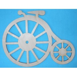 Заготовка для декупажа Часы Велосипед 23х30 см