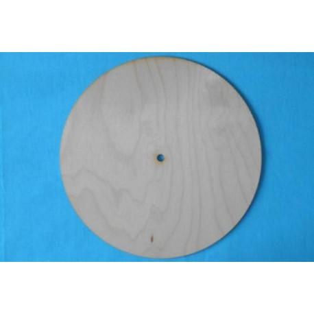 Заготовка для декупажа Часы Круг простой 6 мм, диаметр 20, 25, 30 мм