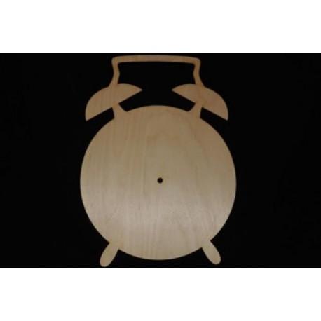 Заготовка для декупажа Часы Будильник, размеры 25х35 см