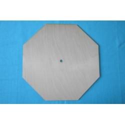 Заготовка для декупажа Часы Восьмиугольник 1, размеры 30х30 см