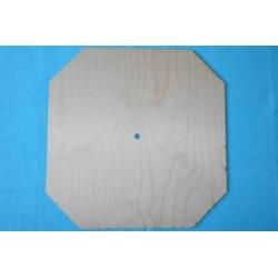 Заготовка для декупажа Часы Восьмиугольник 2, размеры 30х30 см