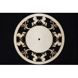 Заготовка для декупажа Часы Кони, диаметр 28 см