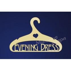 Заготовка для декупажа Плечики Evening Dress