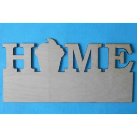 Заготовка для декупажа Панно Home 1, размеры 24х50 см