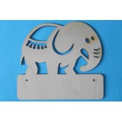 Заготовка для декупажа Панно Слон, размеры 27х30