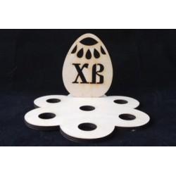Заготовка для декупажа Подставка Яйцо ХВ 1, размеры 12х20 см