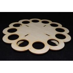 Заготовка для декупажа Подставка под пасхальные яйца 2, диаметр 28 см