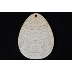 Заготовка для декупажа Бирка Пасхальное яйцо 6