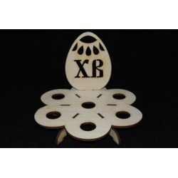 Заготовка для декупажа Подставка Яйцо ХВ 2, размеры 12х20 см
