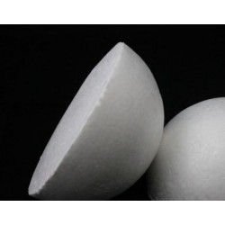 Полусфера пенопластовая 17 см