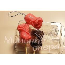 Форма для шоколада Бутон розы