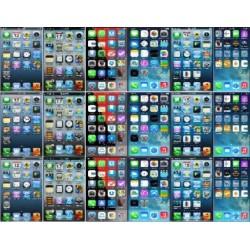 Картинки на водорастворимой бумаге Iphone