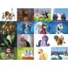 Картинки на водорастворимой бумаге Мультики 3