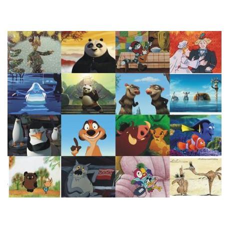 Картинки на водорастворимой бумаге Мультики 8