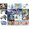 Картинки на водорастворимой бумаге Новый 2015 год
