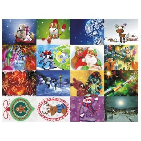 Картинки на водорастворимой бумаге Новый год 1