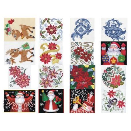 Картинки на водорастворимой бумаге Новый год 4