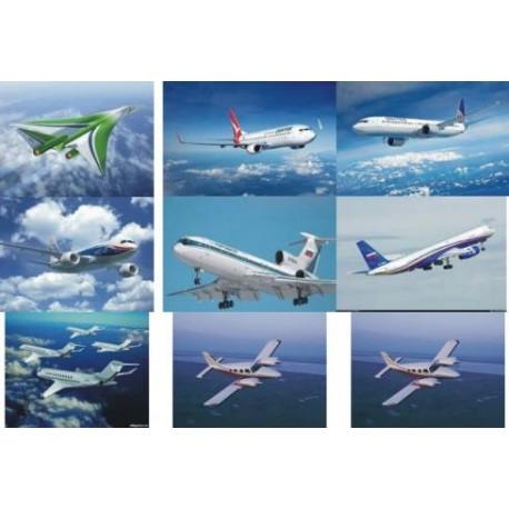 Картинки на водорастворимой бумаге Самолеты 2