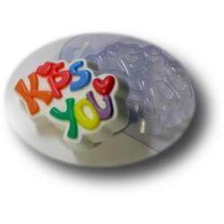 Форма ПВХ Kiss you