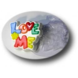 Форма ПВХ Love me