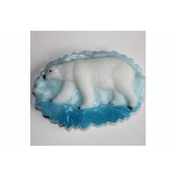 Форма ПВХ Белый медведь