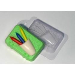 Форма ПВХ Блокнот с карандашами
