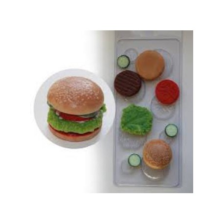 Форма ПВХ Бургер листовая