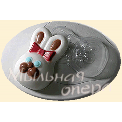 Форма ПВХ Кролик