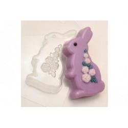 Форма ПВХ Кролик с розами
