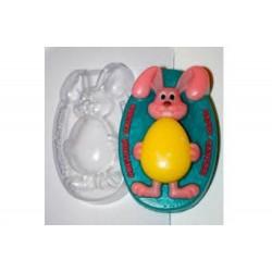 Форма ПВХ Кролик с яйцом