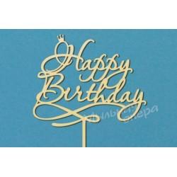Заготовка для декупажа Топпер Happy Birthday 1, размеры 20х29 см