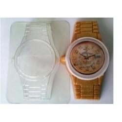 Форма ПВХ Часы металлический браслет
