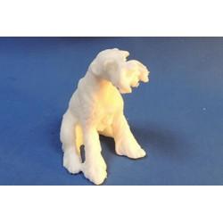 Форма 3D Собака Ризеншнауцер