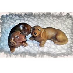 3D Собака Такса
