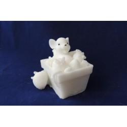 Форма 3D Мышка земляничная